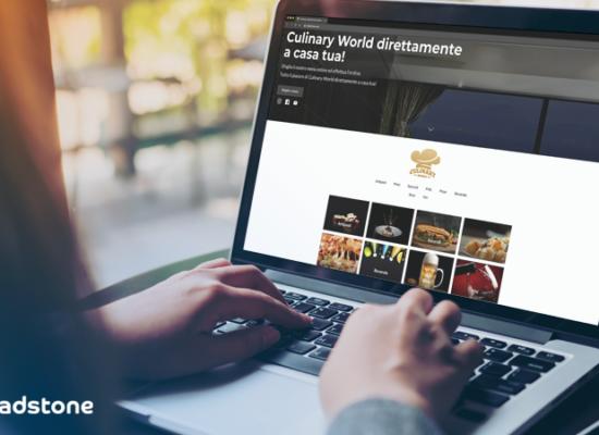e-commerce sito one page