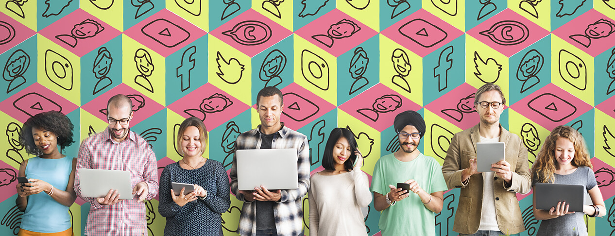 Generazioni vs Social Media
